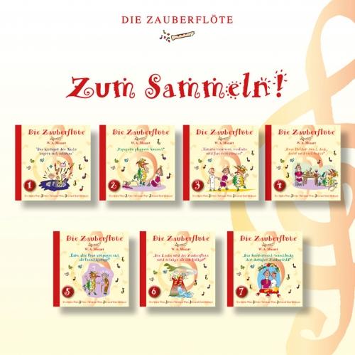 Annalena Kinderbuch - Die Zauberflöte - Sammelspass
