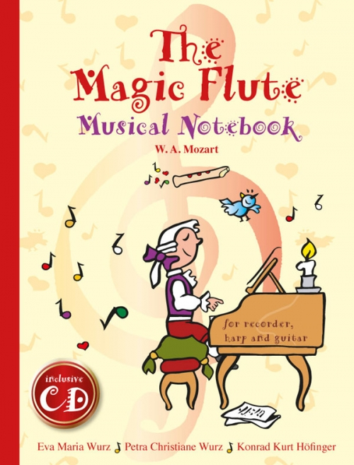 Annalena Kinderbuch - The magic Flute - Musicbook