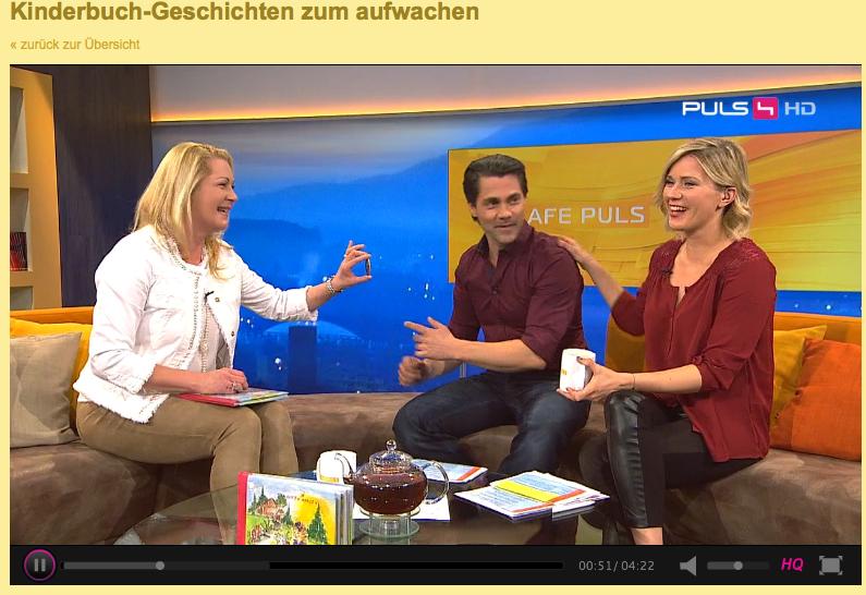 Kinderbuchautorin Eva Maria Wurz TV-Gast